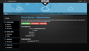 Webinterface Screenshot